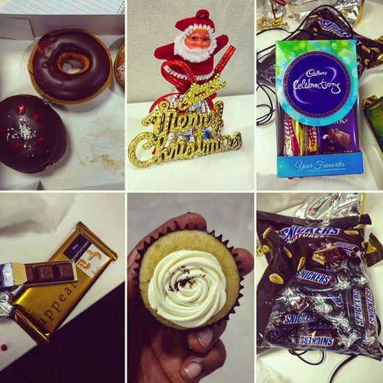 Christmas Gifts Office Bengalurudiaries GiftsFromSanta Secretsanta Chocolates