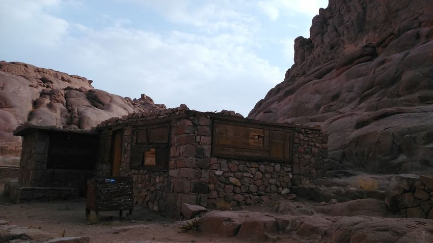 Abandoned Architecture Day Landscape No People Outdoors Rock - Object Sky Saint Catherine Mountains Travel Mousa Mountain, Saint Catherine Hiking Climbing Travel Destinations Vacations Mountain Finding New Frontiers Weekly Welcome Fresh On Eyeem  Traveling Home For The Holidays