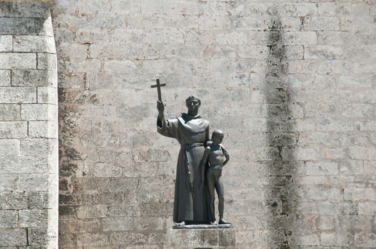 Statue of Fray Junipero Serra City Cuba Fray Junipero Serra Habana Havana Old Statue