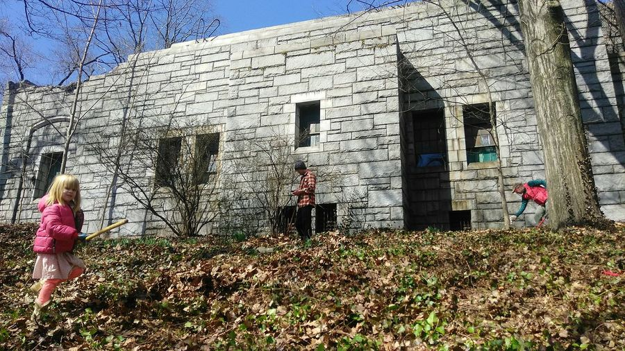 clearing the hillside. photo by Shell Sheddy Shellsheddyphotography Sheshephoto The Great Outdoors - 2018 EyeEm Awards Photo Journalism International Women's Day 2019 Men Women Sunlight Standing Shadow Architecture Building Exterior Built Structure Sky Field