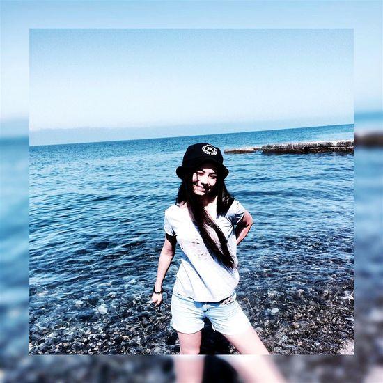 Sochi😍 Summer ☀ 2016 ♥♥♥♥ People Day Favorite City Women Real People Black Sea♥