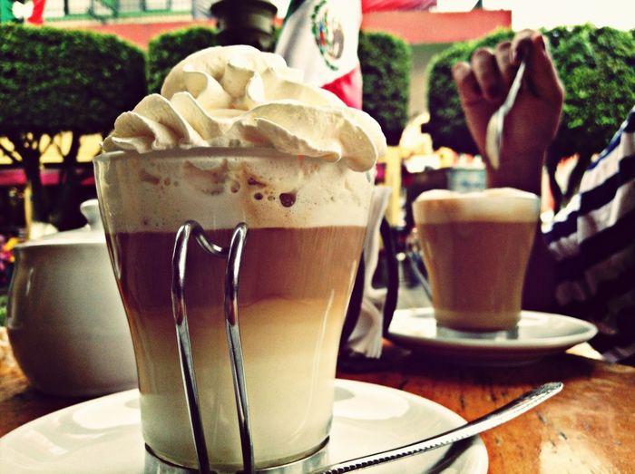 Coffee Enjoying Life Relaxing Taking Photos