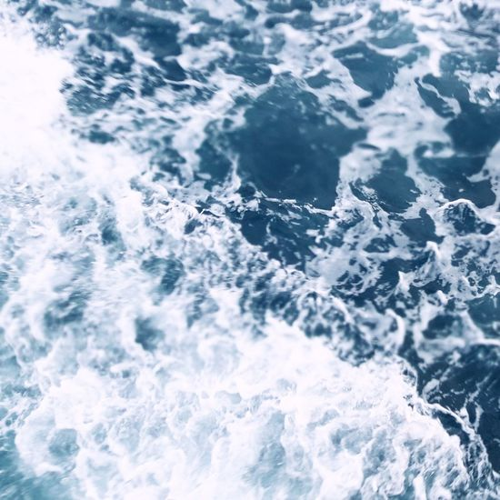 Backgrounds Wave Sea Full Frame No People Blue Water Nature Motion Beauty In Nature Day Outdoors Close-up Freshness Seafoam Nature BodyofWater