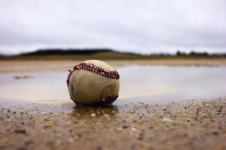 Baseball Rain Rainy Days Rainout Sports