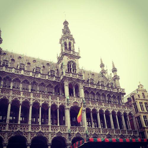 ( ;∀;)( ;∀;)グランプラス…来てよかった… Grandplace Bruxelles Benelux