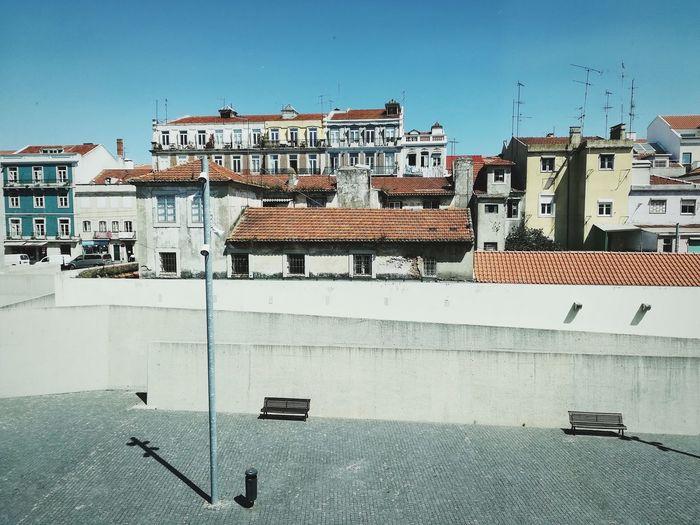 Lisbon Lisboa Portugal Arquitectura AndroidPhotography Androidography Mobilephotography Huaweiphotography Huawei P10 Lite Arquitetura Cityscape Rooftops Belém, Lisboa Cityphotography City Sky Architecture Building Exterior Built Structure