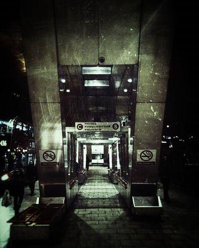 Walkway (Day 28 of 366) Vauxhall City London Galaxys6edge Nickblak