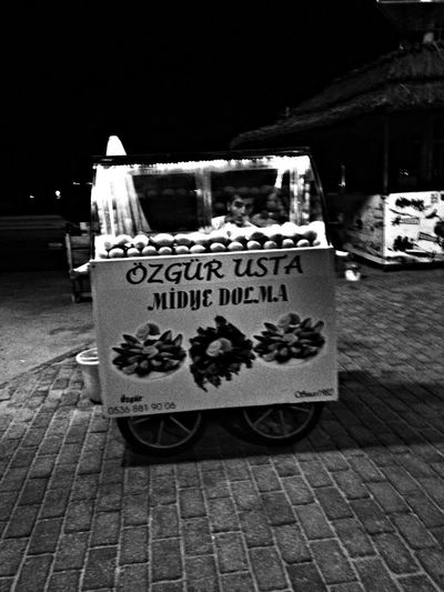 Turkey Holiday Streetphotography Vente De Moules