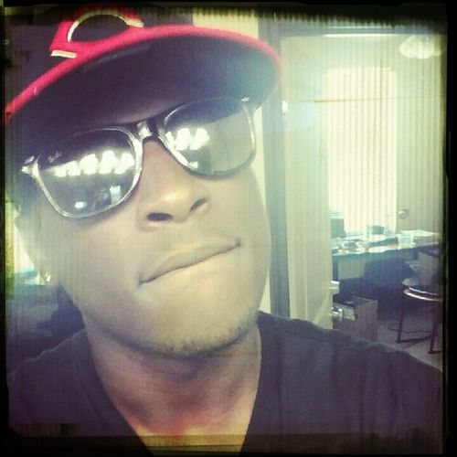 Raybans On I Cant See You Niggas !