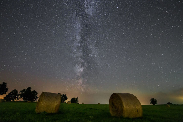 Astronomy Beauty In Nature Constellation Environment Field Galaxy Harz Harzmountains Land Landscape Milchstrasse Milky Way Milkyway Nature Night No People Plant Scenics - Nature Sky Space Star Star - Space Star Field Tranquil Scene Tranquility