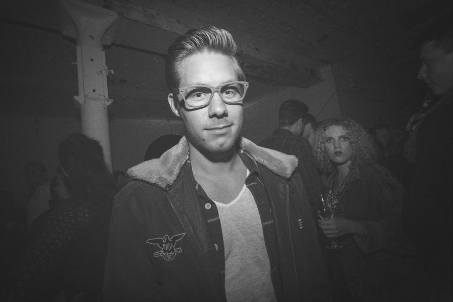 Tim rocking the Party at The 2014 EyeEm Festival & Awards Black & White Glasses