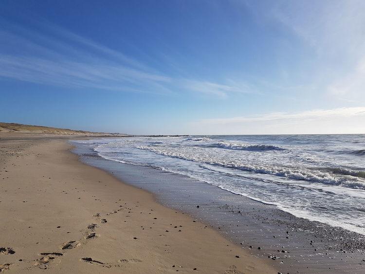 White Waves White Water Beach Steps Infinity