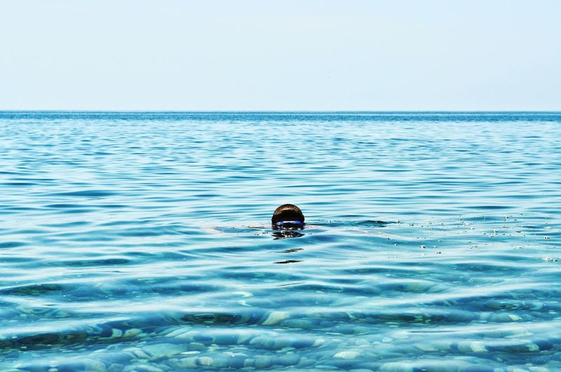 Black Sea Water Swimming Sea Life Sea Clear Sky Blue The Great Outdoors - 2019 EyeEm Awards