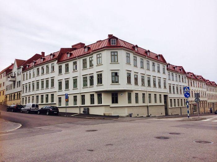 Summer Building Gothenburg Sweden