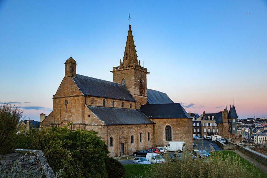 Church Normandie Architecture Building Exterior Built Structure City Cityscape Clear Sky Day Holiday No People Outdoors Religion Sky