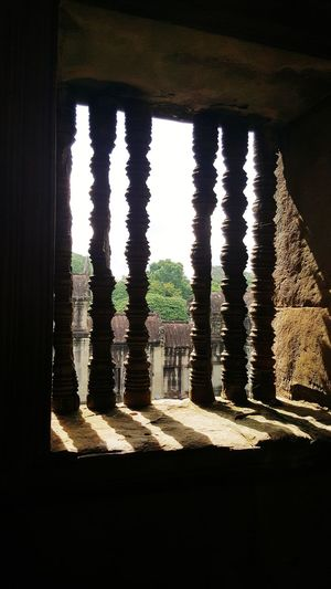 Window Architecture Ancient History Built Structure Travel Destinations My Smartphone Life Beautiful Places In The World Angkor Wat, Cambodia Architecture Ancient Old Ruin History Vacation Destination Buddhism Buddhist Temple Peaceful Place Beautifully Organized