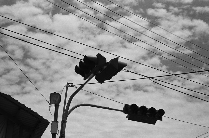 Cityscapes Streetphotography Blackandwhite Film Street Photography Ilfordhp5 Taiwan Taichung On The Road 35mm Film