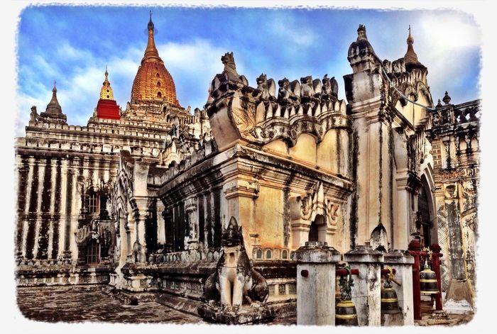 Ananda Buddhist Temple Masterpiece Beautiful Myanmar