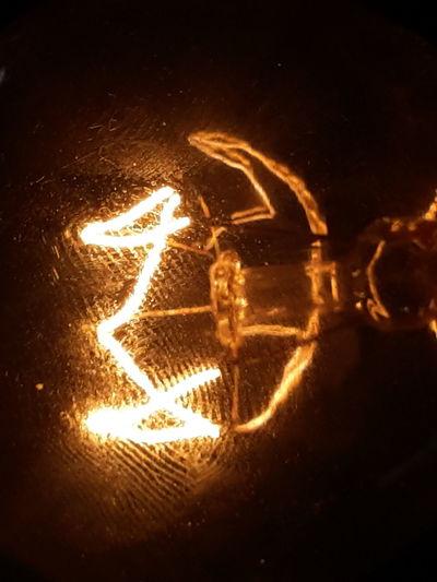 Glowing bulb Glowing In The Dark Bulb