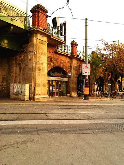 Josefstädterstrasse Straßenbahnhaltestelle Architecture City Outdoors No People Evening Vienna