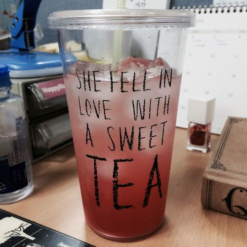 Falling In Love With Tea Iced Tea Summer Is Coming Nice Weather Grapefruit Sweet Tea Cup Of Tea Wednesday Afternoon Lazy Sleepy Laidback Atwork