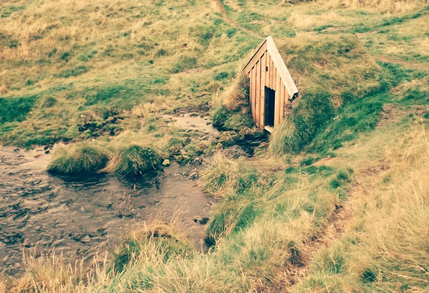 Abandoned No People High Angle View Nature Built Structure Architecture Beauty In Nature River Iceland Trip Iceland_collection Iceland Memories The Secret Spaces Hobbit House Home Neighborhood Map Iceland The Architect - 2017 EyeEm Awards