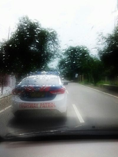 On My Way To #bandung.... With Mr. Police.....***bebas Macet...