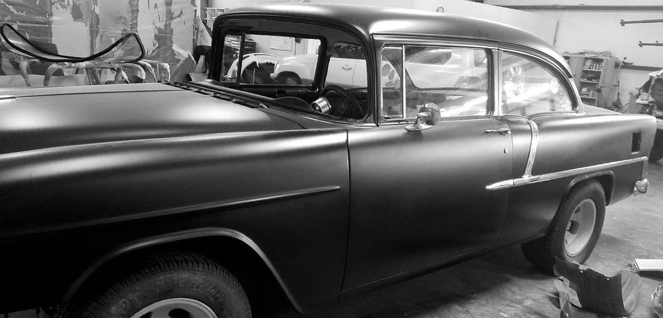 Car Transportation 55 Chevy Antique Antique Car Chevrolet No People Close-up Land Vehicle Mode Of Transport Old-fashioned