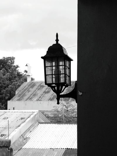 Lamp Black And White Photography