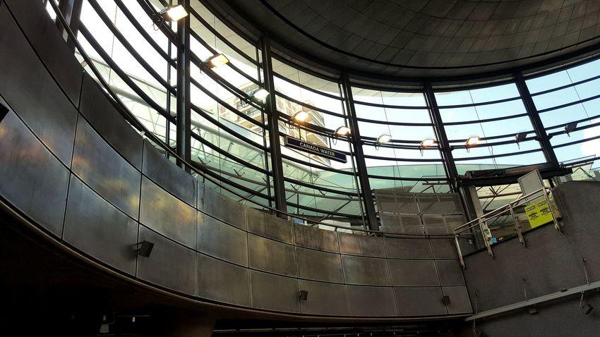 Canada Water Buildings London Landscape Window Light