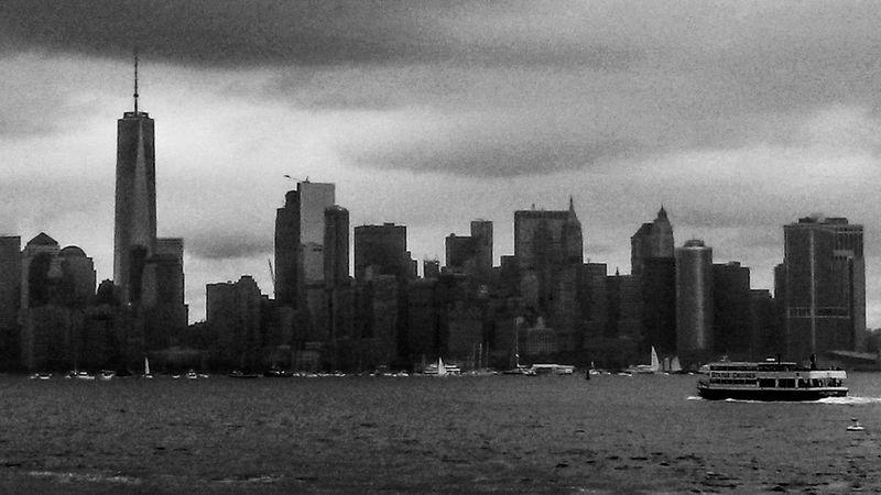 The Greatest City in the World Skyscraper City Architecture Urban Skyline Cityscape Travel Destinations Black And White New York City New York Skyline  Shotonphone