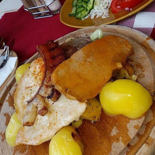 Fatanyeros Hotelkapitany Csarda Varcsarda mutimiteszel sumeg sumegivarfoodphotography foodstagram foodiefoodies