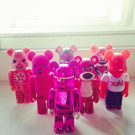 Bearbrick Pink Bear Toys