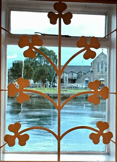 Luck of the Irish Water Architecture No People Day Nature Window Outdoors