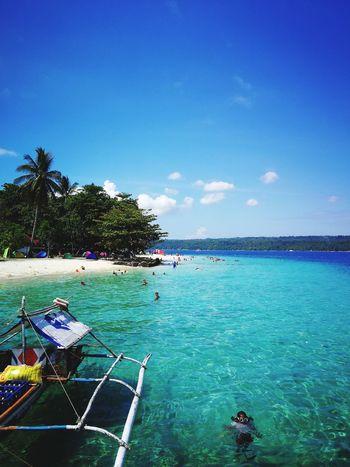 island life Philippines Davao Asian  Tree Nautical Vessel Blue Sky Coconut Palm Tree Island Summer Exploratorium