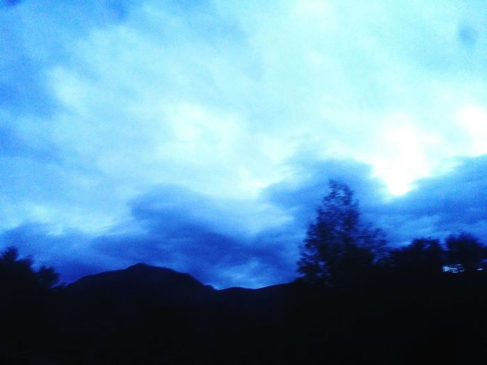 Cloud Dusk Beauty In Nature Dark Blue Nature Mountain Scenics Stormy Sky Wasatch Front Utah Utah Sky Mobile Photography