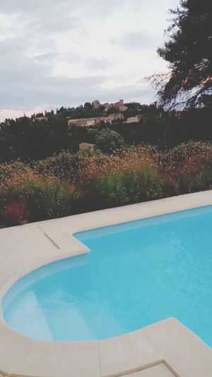 Enjoying The Sights Carcassone, France Swimming Pool Pool With Beautiful Sight