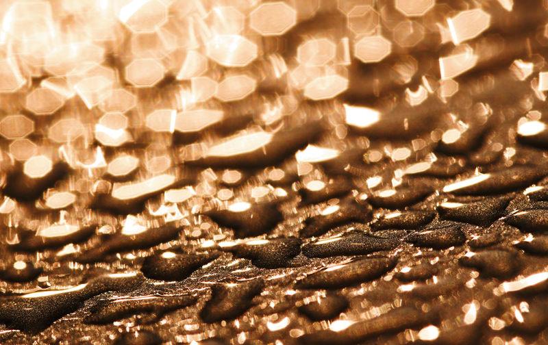 Full frame shot of illuminated christmas lights