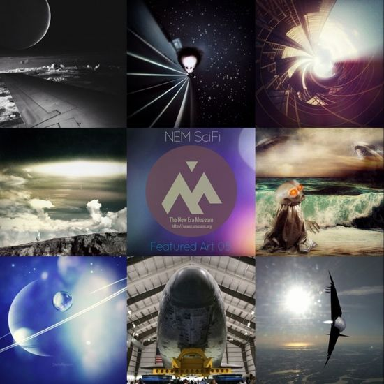 """Thank you so much NEM SciFi for selecting my edit (top middle) for part of your Featured Art 05!! It is such an honor to be among such talented artists! Congrats again to all!! Please tag your submissions to """"NEM SciFi"""" for a chance to be featured!"""