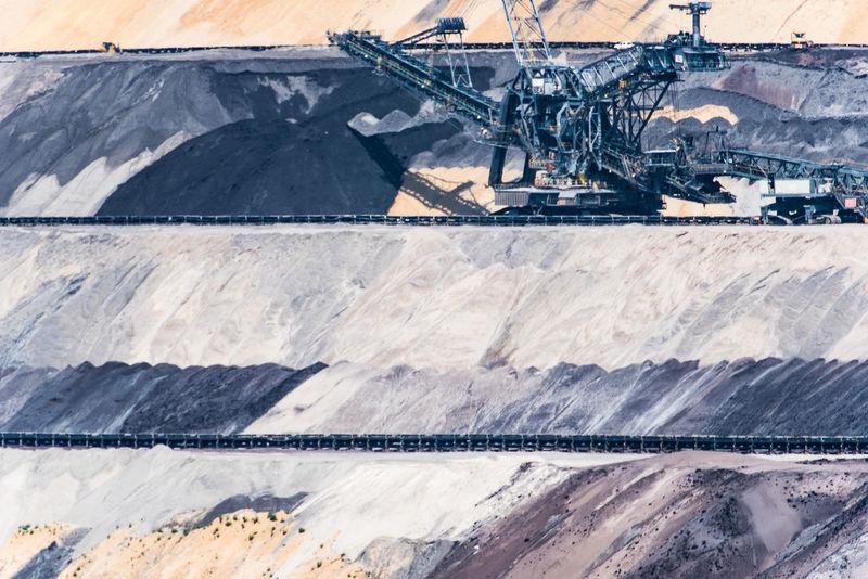 Braunkohle Braunkohletagebau Excavator Coloured Earth Day Garzweiler Industry Landscape Machinery Mining Nature No People Outdoors Quarry