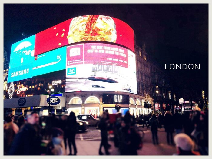 City Night City Life Illuminated Nightlife Architecture Outdoors London Picadillycircus