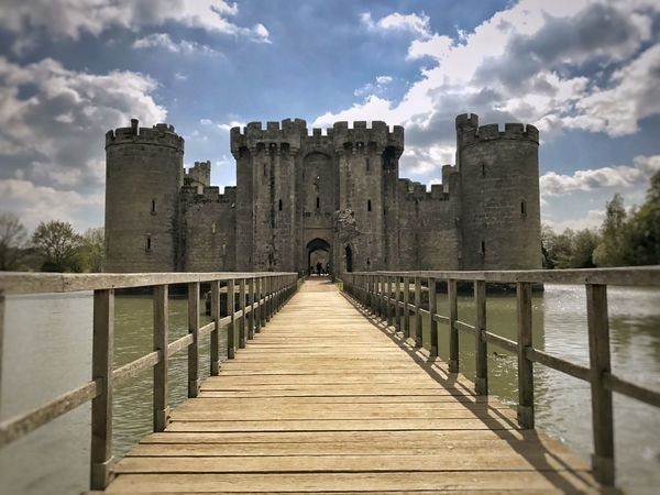 Architecture Built Structure Cloud - Sky Sky History Bridge - Man Made Structure Building Exterior Travel Destinations Outdoors Castle Ancient Water East Sussex Bodiam Medieval National Trust The Past Moats Bodiam Castle Ancient Architecture Ruins National Trust 🇬🇧 Medieval Castle Castle