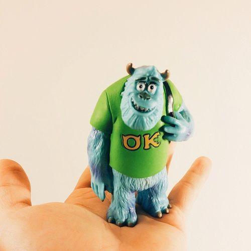 아 칠링칠링 하고싶다ㅋㅋㅋ킼 Procrastinating again even though I have tons of things to do ✌ Vscocam Instadaily Jamespsullivan Disney Pixar  Monsteruniversity 몬스터대학교 설리 키덜트 일상 토이스타그램