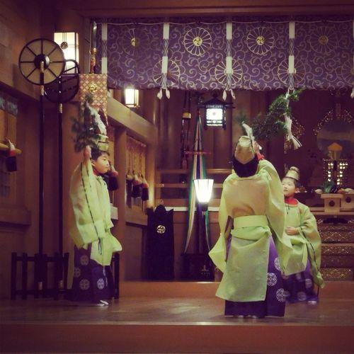 Dance Culture Shrine Kagura