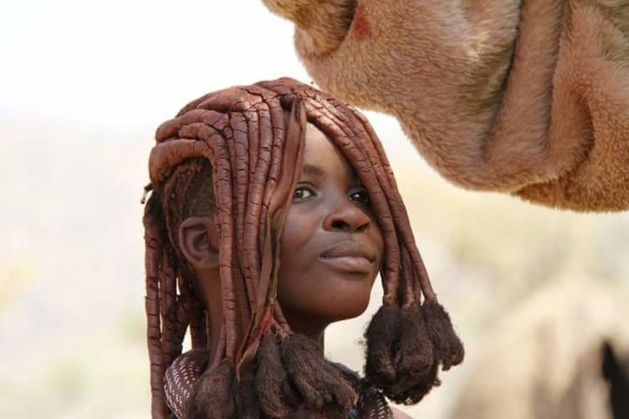 African Beauty African People Beauty Young Woman Himba Himba People Himba Tribe Namibia This Is Natural Beauty