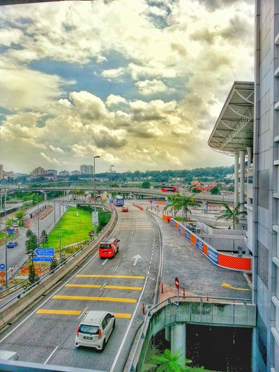 Kuala Lumpur Scenery Shots Scenery_collection Snapshot Clouds And Sky Landscape Phoneography Bridge