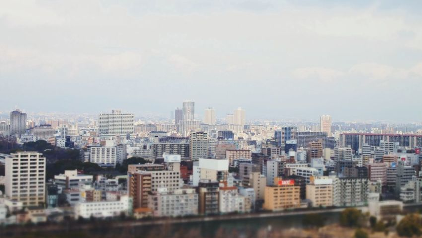 City in Japan Japan City Battle Of The Cities Color Of City Still Morning People Aerial View Settlement We Are All FAR AWAY Cityscape Architecture Building Exterior Atmosphere Morning Normal Life Blurred Motion Olympus Film Development