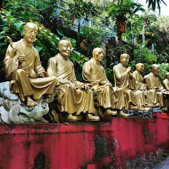 Human Representation Male Likeness Art And Craft Statue Sculpture Outdoors Close-up 10000buddhas Pupparazzi HongKong Traveling Travelphotography Wanderlust I Love Travel ASIA Buddhas Buddha Buddha Statue Reiselust Reisen Ist Meine Medizin No People Travel Photography Travellover Travellove
