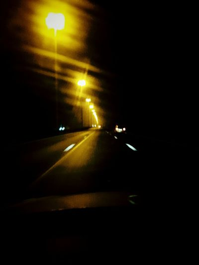 Sometimes i hate driving home Taking Photos EyeEm Best Edits Popular Photos Darkness On The Road