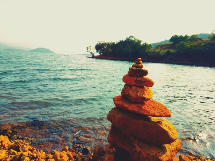 Make a wish Rock Wish Wish Maker Stack Stack Rock Lake Lake Side Afternoon Sun Summer Clise_up Tree Water Wave Clear Sky Rock - Object